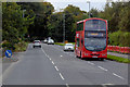 C4621 : Bus on Culmore Road by David Dixon