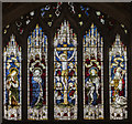SK9771 : East window, St Mary Magdalene church, Lincoln by Julian P Guffogg
