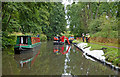 SO8274 : Canal maintenance south of Kidderminster in Worcestershire by Roger  Kidd