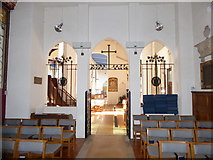 TQ2160 : Inside St Martin of Tours Epsom (6) by Basher Eyre
