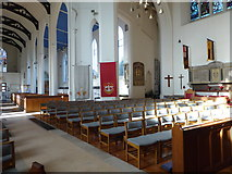 TQ2160 : Inside St Martin of Tours Epsom (13) by Basher Eyre