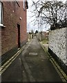 SJ8646 : Alleyway in Basford by Jonathan Hutchins