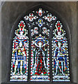 TG2308 : Memorial window to the Dragoon Guards who fell in the Boer War by Adrian S Pye