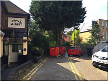 TQ3370 : Private access off Westow Hill, Upper Norwood, south London by Robin Stott