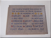 TQ2160 : St Martin of Tours Epsom: memorial (3) by Basher Eyre