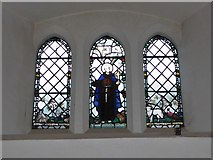TQ2160 : St Martin of Tours Epsom: stained glass window (c) by Basher Eyre