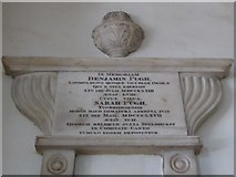 TQ2160 : St Martin of Tours Epsom: memorial (12) by Basher Eyre