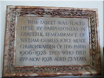 TQ2160 : St Martin of Tours Epsom: memorial (9) by Basher Eyre