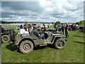 SU8607 : Jeep at the Goodwood Revivial by Jeff Tomlinson
