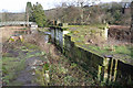 SK0942 : Uttoxeter Canal at Crumpwood Weir by Chris Allen