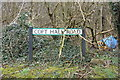 TL1118 : Copt Hall Road sign by Adrian Cable