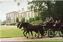 SS6140 : Going for a ride, Arlington Court by Richard Sutcliffe