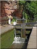 SO8275 : Caldwall Lock near Kidderminster in Worcestershire by Roger  Kidd