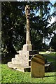 ST5953 : Churchyard cross, Chewton Mendip by Philip Halling