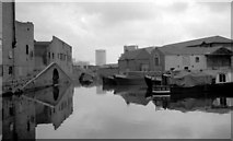 SP0686 : Gas Street Basin - looking across the basin (1968) by Martin Tester