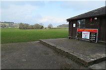 SX7962 : Dartington & Totnes SC  sports field by John C