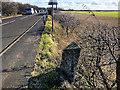 SD3005 : Little Altcar, Milestone on Liverpool Road by David Dixon
