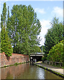 SO8276 : Staffordshire and Worcestershire Canal in Kidderminster by Roger  Kidd