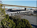TR3341 : Demolition of multi-storey car park, Eastern Docks by John Baker