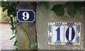 ST5874 : Numbers, Grove Park, Redland by Derek Harper