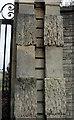 ST5874 : Frosted blocks, Redland Court by Derek Harper