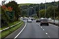 SH8279 : A55 North Wales Expressway near Colwyn Bay by David Dixon