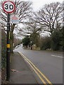 SK1000 : Alcohol Restricted Area notice, Hill Hook Road, Sutton Coldfield by Jaggery