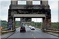 SH5470 : North Wales Expressway, Pont Britannia by David Dixon