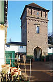 TQ1352 : Water Tower, Polesden Lacey by Des Blenkinsopp