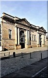 NS6064 : Former Glasgow Cattle and Meat Market -  Main Entrance by Raibeart MacAoidh