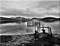 NS0767 : Old Steamer Pier, Port Bannatyne - Isle of Bute by Raibeart MacAoidh