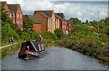 SO8277 : Staffordshire and Worcestershire Canal near Kidderminster by Roger  Kidd