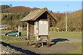NX0668 : Information Shelter, Cairnryan by Billy McCrorie