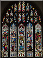 SK8608 : East window, north chapel, All Saints' church, Oakham by Julian P Guffogg