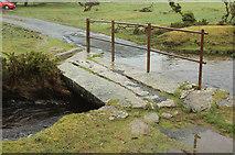 SX1882 : Footbridge by ford, Bowithick by Derek Harper