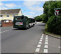 ST3487 : Newport Bus single-decker in Broadmead Park, Newport by Jaggery