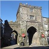 SX3384 : Launceston - The South Gate by Rob Farrow