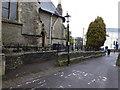 ST6175 : Gas-light near Holy Trinity Church by Eirian Evans