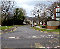 ST3096 : Junction of Edlogan Way and Caerwent Road, Croesyceiliog, Cwmbran by Jaggery