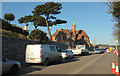 SX9676 : Traffic queue, Dawlish by Derek Harper