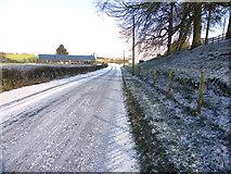 H4174 : Mullagharn Road by Kenneth  Allen