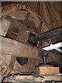TL4574 : Great Mill, Haddenham - brake wheel and wallower  by Chris Allen