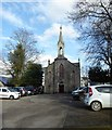 NJ7720 : Episcopal Church on Inverurie High Street by Stanley Howe