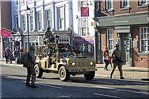 SJ4066 : Mercian Regiment Freedom Parade, Chester by Jeff Buck