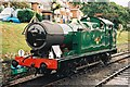 SZ0278 : GWR Class 5600 Class 0-6-2T no.6695 at Swanage railway station by Jonathan Hutchins