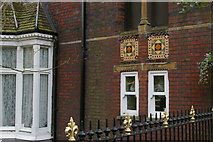 TQ1587 : Victorian detailing, Peterborough Road, Harrow-on-the-Hill by Christopher Hilton