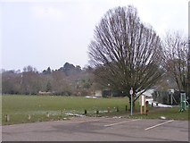 SO8483 : Cricket Field View by Gordon Griffiths
