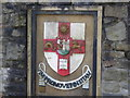 ST5873 : Coat of Arms of the University of Bristol by Eirian Evans