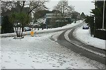 SX9164 : Snow, Trematon Avenue, Torquay by Derek Harper