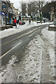 SX9164 : Union Street in the snow by Derek Harper